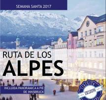 Ruta de los Alpes - Semana Santa - 12 al 17 Abril - 439€