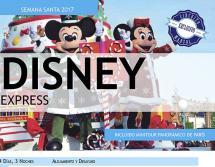 Disney Express - Semana Santa - 12 al 16 de Abril - 509€ / 385€ (Niños)