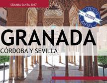 Granada, Córdoba y Sevilla - Semana Santa - 12 al 16 Abril - 359€