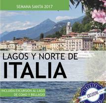 Lagos y Norte de Italia - Semana Santa - 12 al 17 Abril - 475€