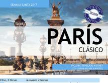 París Clásico - Semana Santa - 12 al 16 Abril - 315€ / 239€ (niños)