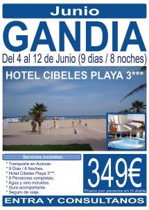 Gandia - 04 al 12 de Junio - 9 Días