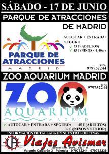 Parque de Atracciones / Zoo Aquarium Madrid - 17 Junio