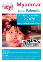 Myanmar desde Palencia