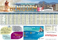 Oferta Benidorm desde Abril a Junio